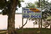 Trecho do rio Doce em Linhares/ES