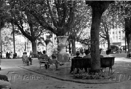 Praça da República, em São Paulo (1954)