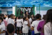 Escola Municipal Frei Damião no Grajaú