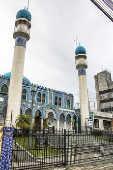 Fachada da mesquita Imam Ali ibn Abi Talib