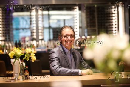 Afranio Barreira, sócio da rede de restaurantes de frutos do mar Coco Bambu