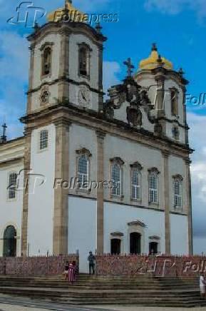 Basílica do Senhor do Bonfim, em Salvador, na Bahia