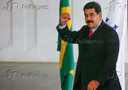 Dilma recebe o presidente da Venezuela, Nicolás Maduro