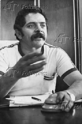 O sindicalista Lula (Luiz Inácio da Silva)