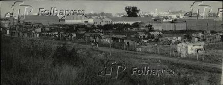 Favela do Jardim Piratininga na zona leste de São Paulo