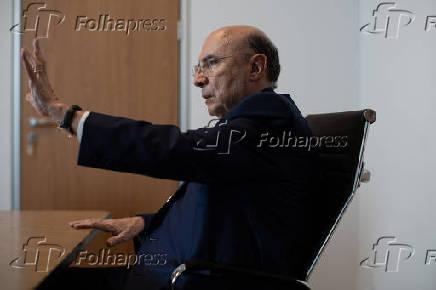 O futuro secretário da Fazenda de SP, Henrique Meirelles