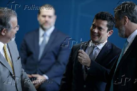 Posse do ministro da Justiça Sergio Moro
