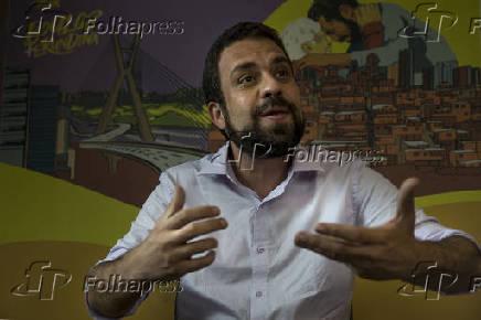 Entrevista com Guilherme Boulos