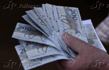 Lançamento da nova nota de R$ 200,00 no Banco Central