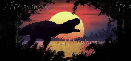 Abelissauro foi um dinossauro theropoda carnívoro