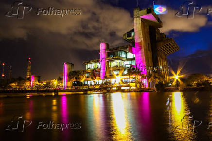 O Palácio dos Tropeiros é o edifício sede da Prefeitura Municipal de Sorocaba (SP)