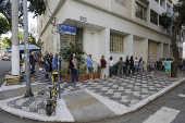 Vacinação com o imunizante Pfizer, contra a Covid, na Santa Cecília