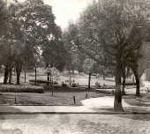 Vista da Praça Buenos Aires, no