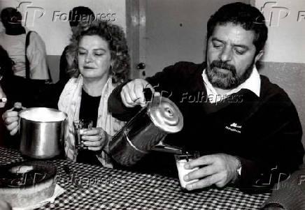 Luiz Inácio Lula da Silva e Marisa Letícia