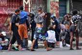 Moradores da Cracolândia entra em confronto com a Polícia