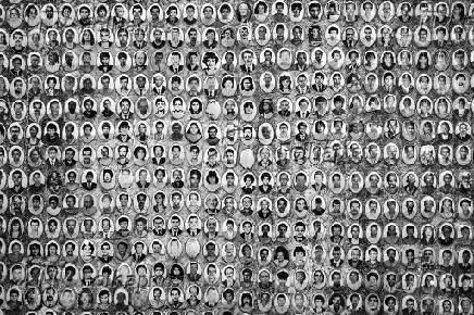 Retrato dos mortos que foram sepultados no cemitério São Luiz (SP)