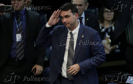 O senador Flávio Bolsonaro (PSL-RJ)