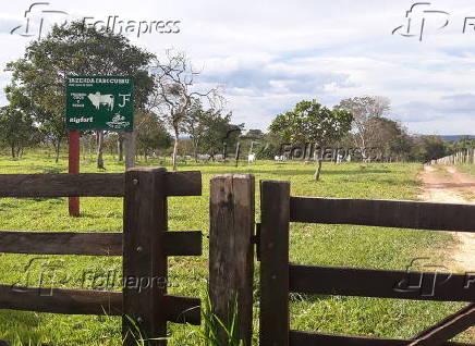 Fazenda Tabocussu, propriedade do médium João de Deus