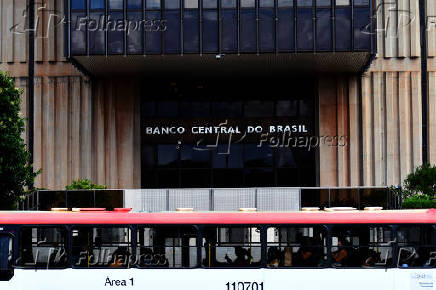 Fachada do Banco Central do Brasil, em Brasília (DF)