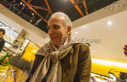 André Lara Resende no lançamento do livro do economista Giannetti