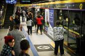 Estação Paulista da linha 4-amarela do Metrô de São Paulo