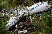 Tragédia da Chapecoense - Local da queda do avião em La Unión