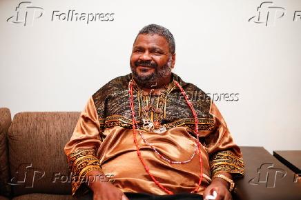 Arlindo Cruz na 14ª edição do Troféu Raça Negra em São Paulo