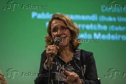 Professora da USP Marta Arretche durante seminário da Cebrap em São Paulo