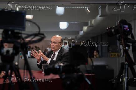 Entrevista com o pré-candidato à Presidência, Henrique Meirelles