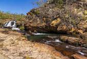 O complexo de Cachoeira do Macaquinho e suas corredeiras, em São João d'Aliança