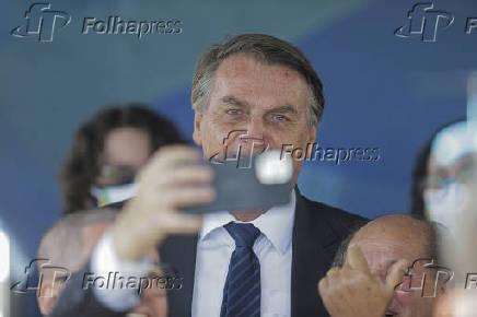Jair Bolsonaro em evento em Sorocaba