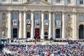 Praça São Pedro, onde acontece a missa de canonização de Irmã Dulce