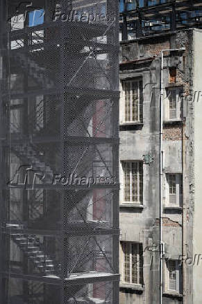 Reforma Edifício Sampaio Moreira, na rua Líbero Badaró em SP