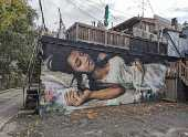 Mural 'A Sonhadora', de Emmanuel Jarus e Rudjer Bosiljevac, em Toronto