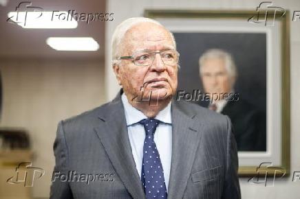 José Gregori na entrega do Prêmio Santo Dias de Direitos Humanos