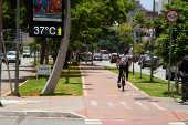 São Paulo registrou o dia mais quente de 2019 segundo o Inmet