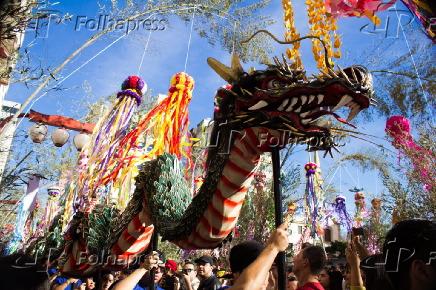 Festival Tanabata Matsuri também conhecido como Festival das Estrelas
