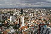 Vista aérea da região central do município de Feira de Santana