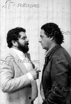 Lula e FHC durante encontro para organização de novo partido