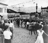 Vista da ciade de Ouro Preto (MG).