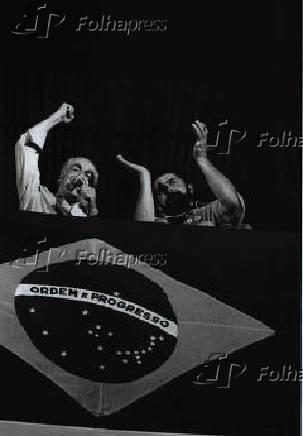 Luiz Inácio Lula da Silva e Leonel Brizola