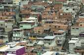Favela verticalizada em Perus, na zona norte de São Paulo