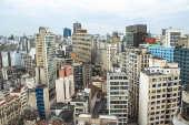 Vista aérea de prédios
