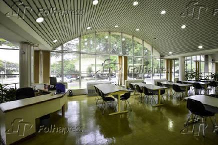 Vista da Biblioteca do ITA, em São José dos Campos (SP)