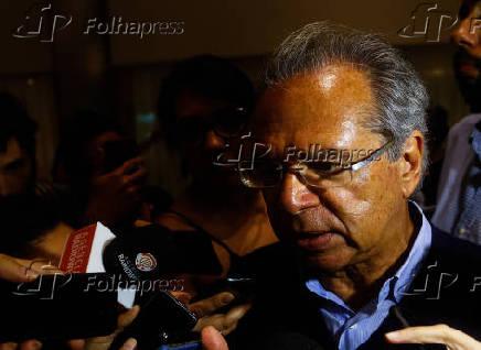 Paulo Guedes, que vai liderar o superministério da Economia do governo de Bolsonaro