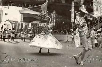 Carnaval 1971 - Desfile da Nenê de Vila Matilde em São Paulo