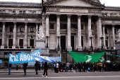 Votação sobre despenalização do aborto na Argentina