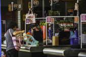 Movimentação de consumidores no supermercado Maximo (SJC)