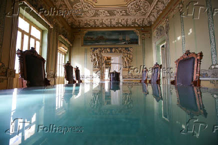 Fachada do Palácio Rio Branco em Salvador (BA)