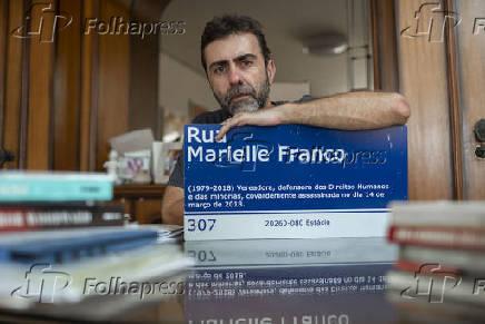 O deputado federal Marcelo Freixo (PSOL-RJ), no Rio de Janeiro